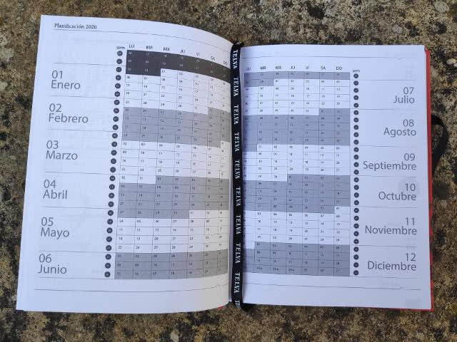 Telva-agenda-2020-planificador semanal