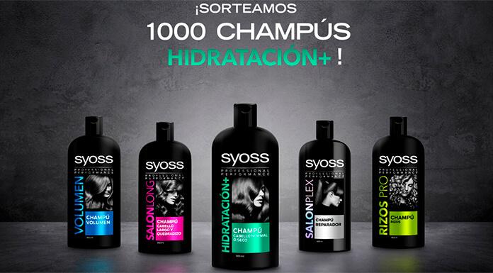 1,000 champú de hidratación Syoss +