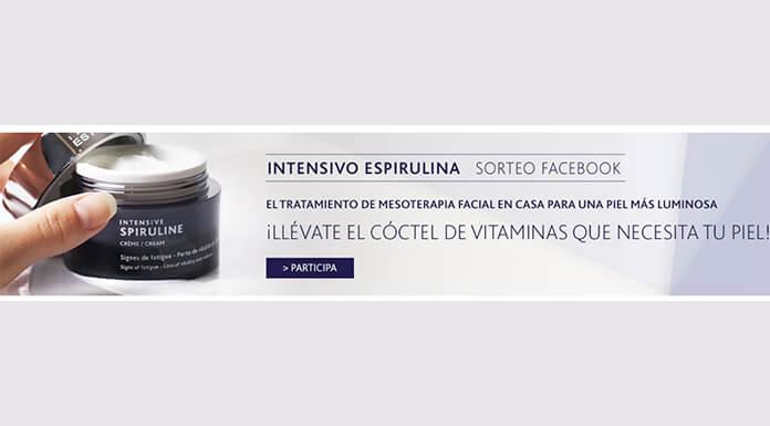 El Institut Esthederm está regalando 2 unidades de crema intensiva de espirulina