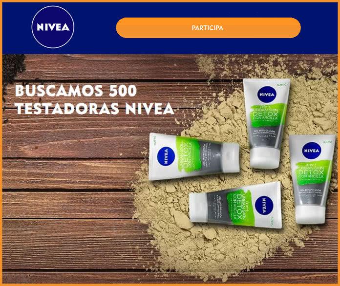 Nivea-Busca-500-embajadores-urbana de piel de desintoxicación