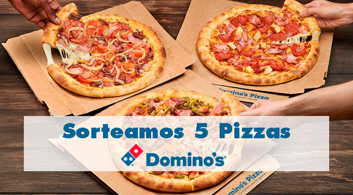 Sorteamos 5 Domino's Pizza