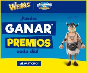 dibujar-weikis-Playmobil-premios-cada-día