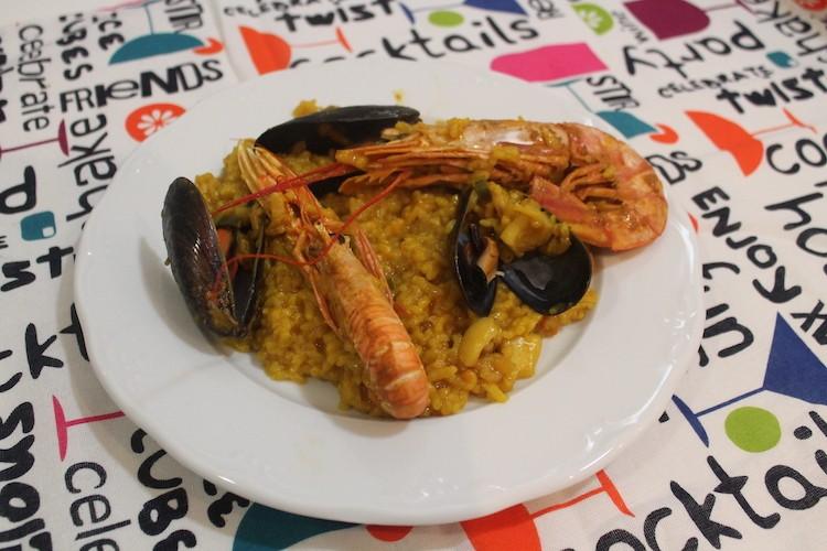 receta de mariscos olla de arroz gm kh de luxe