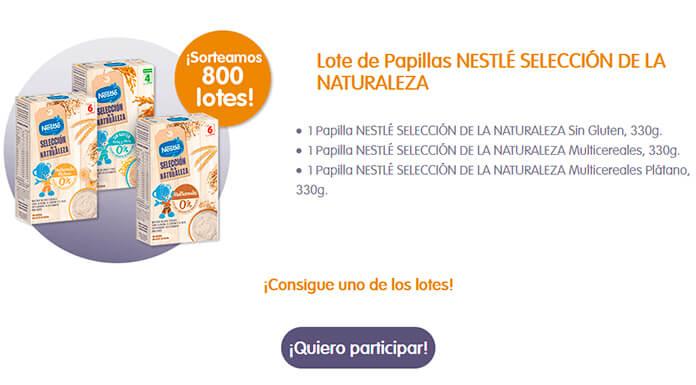 Se sortean 800 lotes de gachas Nestlé de Nature's Selection