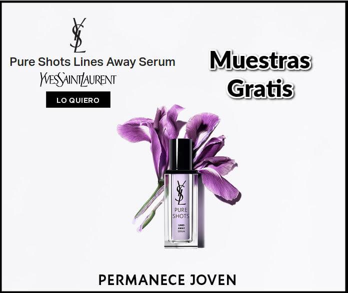 muestras gratis-yves-saint-laurent-pure-shots-lines-away-serum