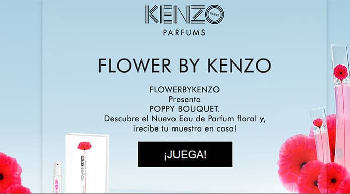 Muestras gratis de Kenzo Flower