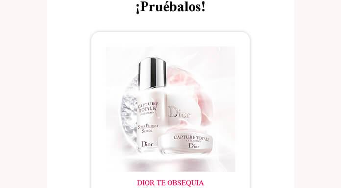 Muestras gratuitas de captura total C.E.L.L. Dior Energy
