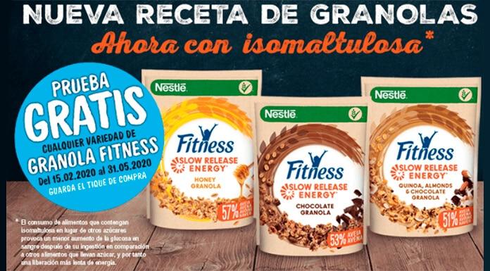Prueba Nestlé Fitness Slow Release Energy gratis