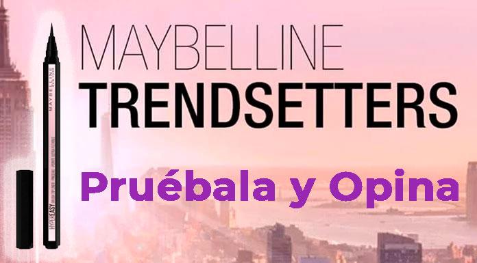 Prueba el nuevo Mayeaskine Hypereasy Liquid Eyeliner gratis