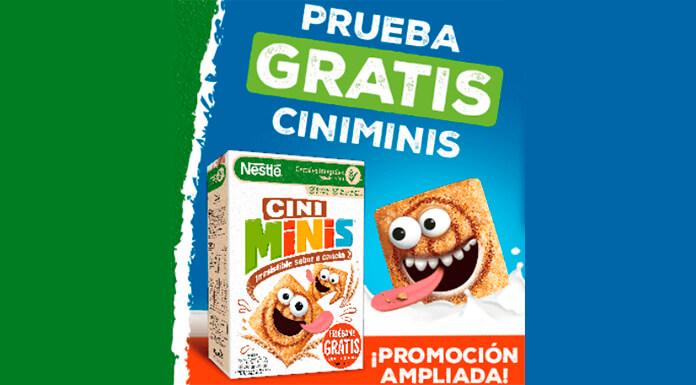 Prueba los cereales Cini Minis gratis