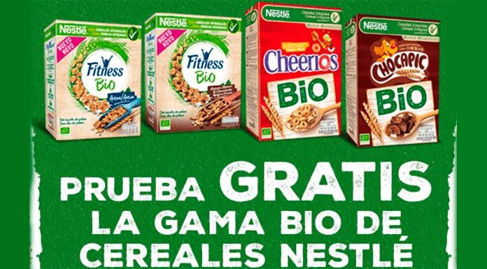 Pruebe gratis la gama de cereales Nestlé Bio