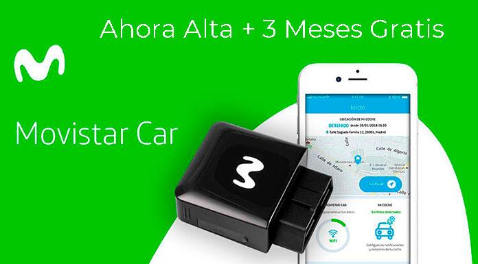 Ahora 3 meses gratis de Movistar Car