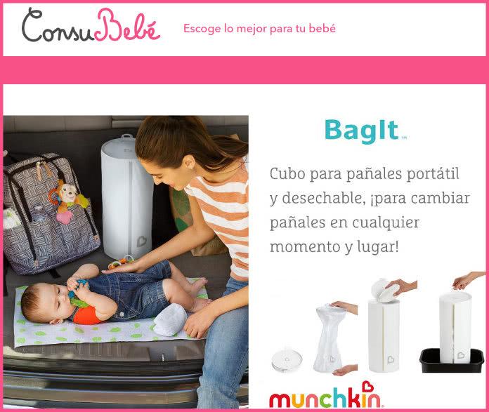 con-su-bebé-100-sin-uso y cúbicas portátil