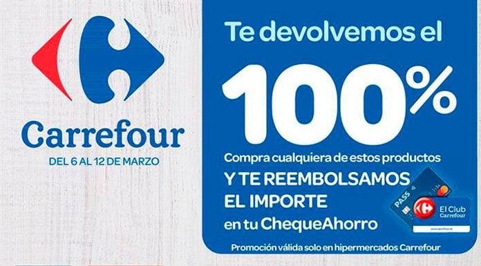 Carrefour devuelve el 100% de estos productos.