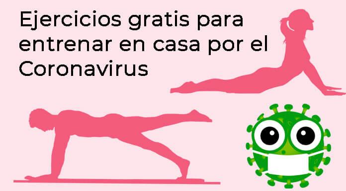 Ejercicios gratuitos para entrenar en casa para el coronavirus