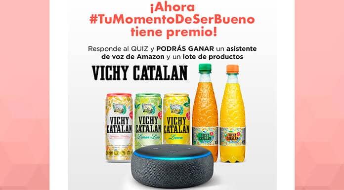 Gana un asistente de voz de Amazon y un lote de productos catalanes de Vichy
