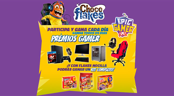 Gane premios para los jugadores todos los días con Choco Flakes