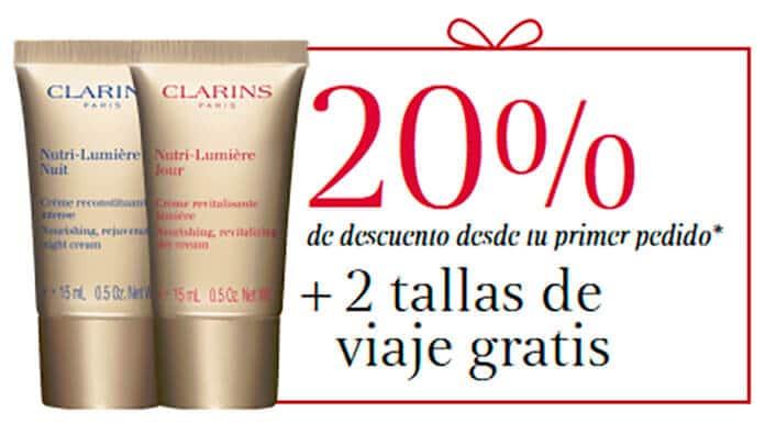 Obtenga 2 muestras gratis de productos Clarins