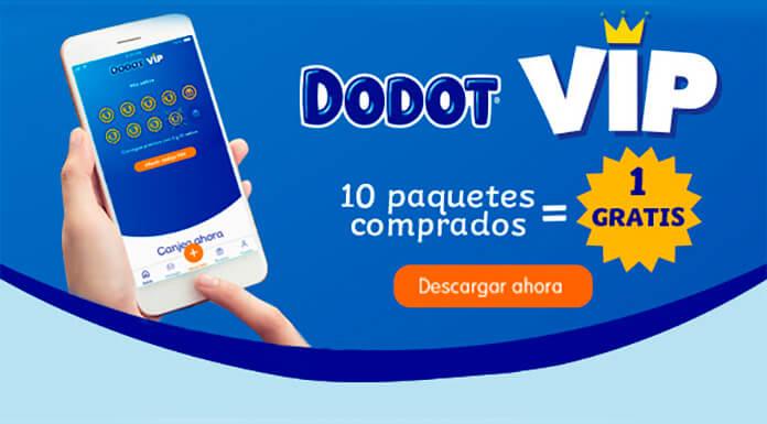 Por 10 paquetes Dodot comprados, obtienes uno gratis