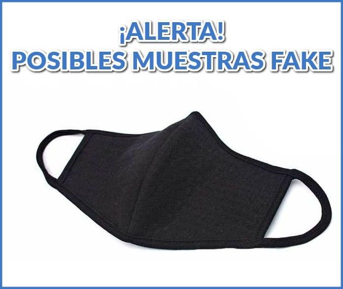 muestras libres-ALERT-falsificación-máscaras