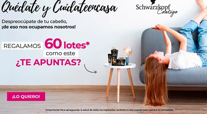 Club Schwarzkopf ofrece 60 lotes de productos Gliss