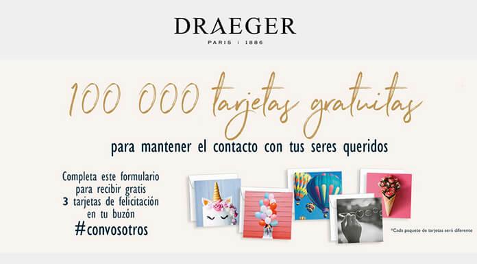 Draeger Paris distribuye 100,000 tarjetas de felicitación gratis