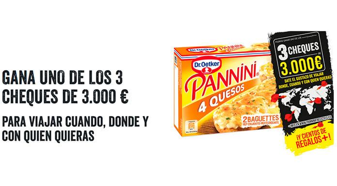 El Dr. Oetker Panini saca 3 cheques por € 3,000 y otros regalos