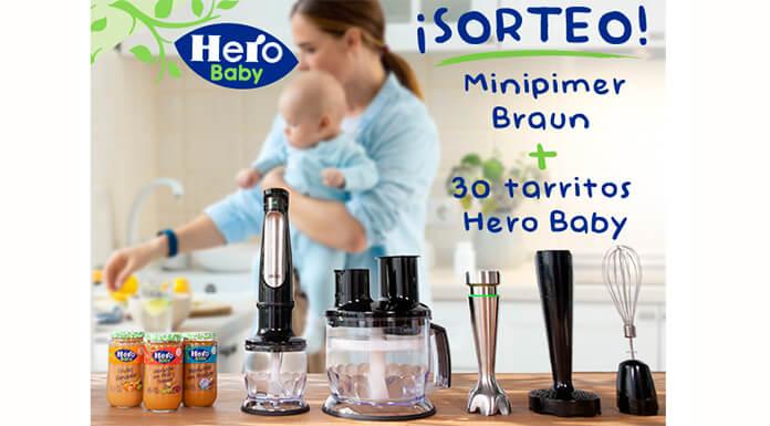 Sorteo Hero Baby 1 Mini Cup y 30 frascos