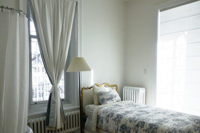 lava las cortinas