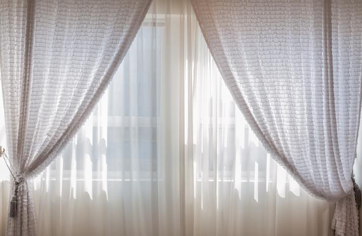 cortinas limpias en casa