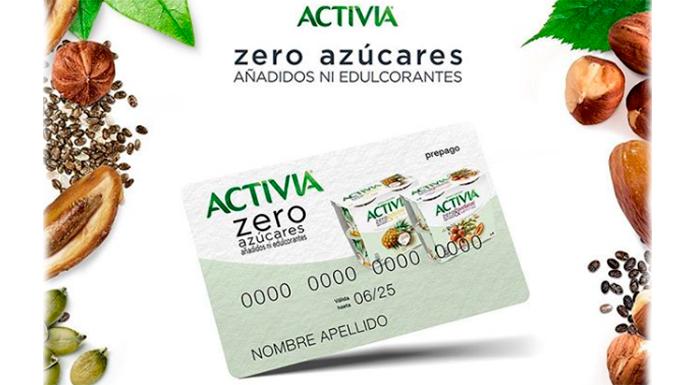 Da 500 cartas para probar Activia Zero Azúcar gratis