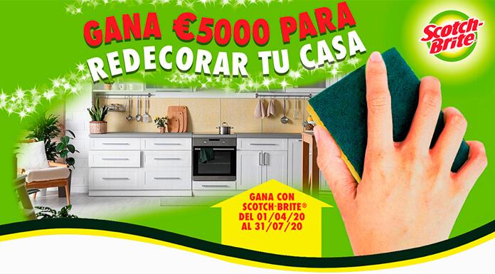 Gane € 5,000 para redecorar su hogar con Scotch-Brite