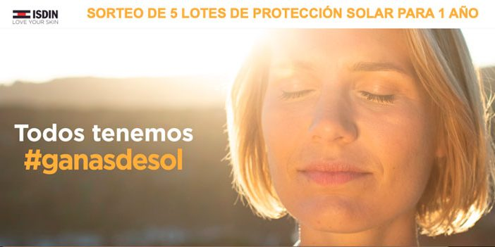 lotería lotería productos solares isdin