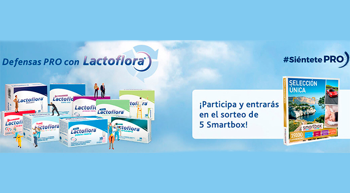 Lactoflora lottery 5 Magic Moments Smartbox