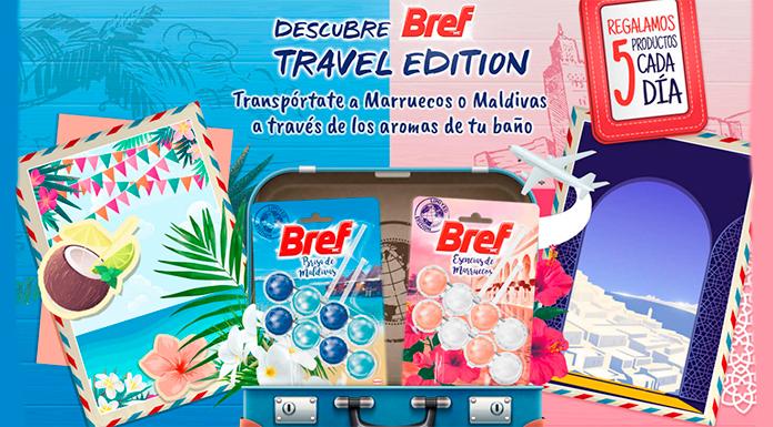 Los productos Bref Travel Edition están disponibles en el Tu Casa Club