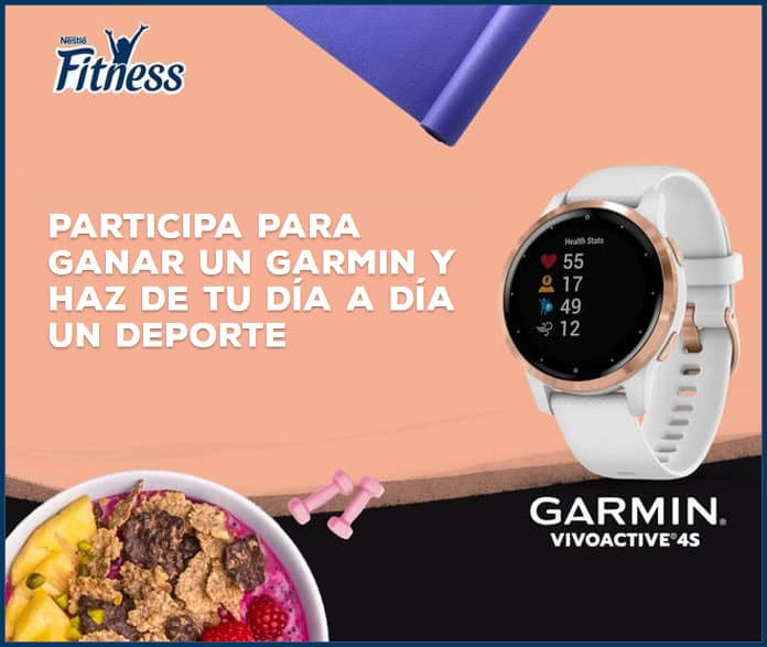 sorteo-Nestle-fitness-Garmin