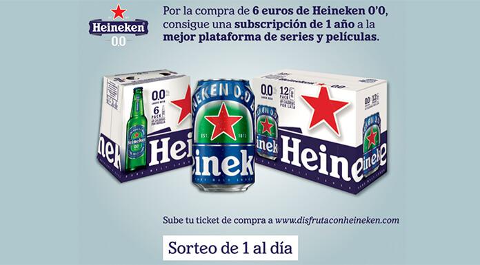 Obtenga una suscripción a series y plataformas de películas con Heineken 0 & # 39; 0