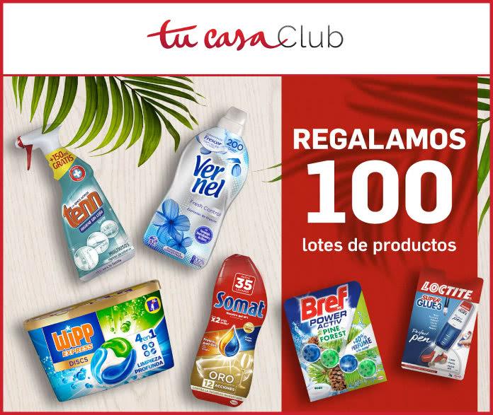 tucasaclub-sorteo-100-lots-products