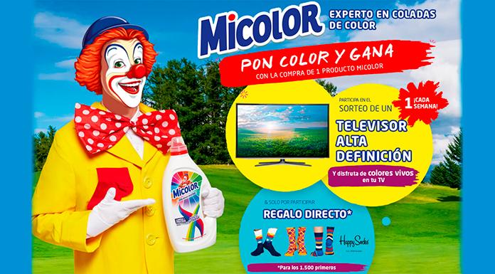 7 regalos de TV y regalos directos con calcetín con Micolor