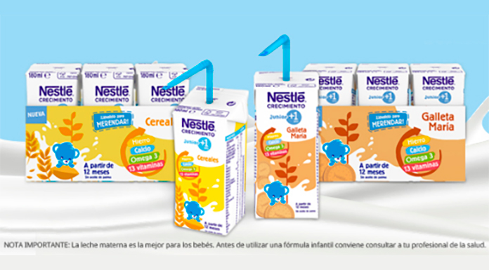 Kuvut prueba Nestlé Junior Growth +1 gratis