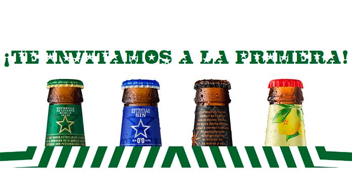 Libera la primera cerveza Estrella de Levante