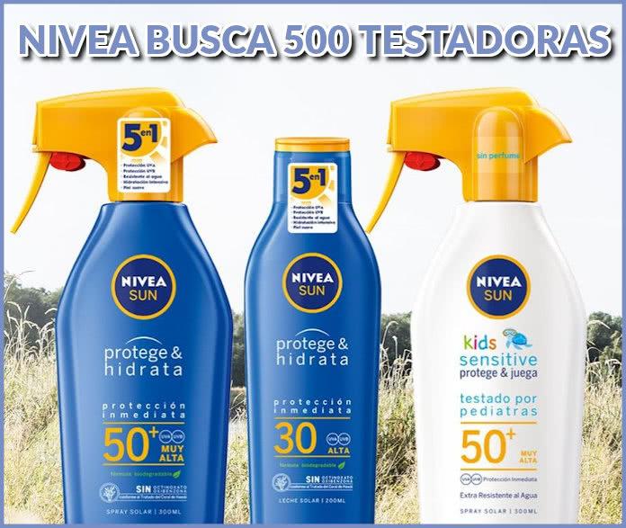"""nivea-busca-500-testadoras-nivea-sun """"width ="""" 696 """"height ="""" 587 """"class ="""" aligncenter size-full wp-image-156393 """"srcset ="""" https://regalosymuestrasgratis.com/wp-content/ uploads / 2020/05 / nivea-busca-500-testadoras-nivea-sun.jpg 696w, https://regalosymuestrasgratis.com/wp-content/uploads/2020/05/nivea-busca-500-testadoras-nivea-sun -296x250.jpg 296w """"dimensiones ="""" (ancho máximo: 696px) 100vw, 696px """"/></p> <h3><strong>¿Cómo registrarse para convertirse en uno de los probadores de Nivea Sun?</strong></h3> <ul> <li><strong>Iniciar sesión en</strong> <strong>Estamos buscando 500 medidores solares Nivea</strong>.</li> <li>Debes estar registrado en Nivea.</li> <li>Si no lo eres, puedes hacerlo ahora mismo.</li> <li>Si ya lo está, inicie sesión con su nombre de usuario y contraseña.</li> <li>Llenar el <strong>Campos requeridos</strong> en el formulario, aceptando la base legal de la promoción.</li> </ul> <p class="""