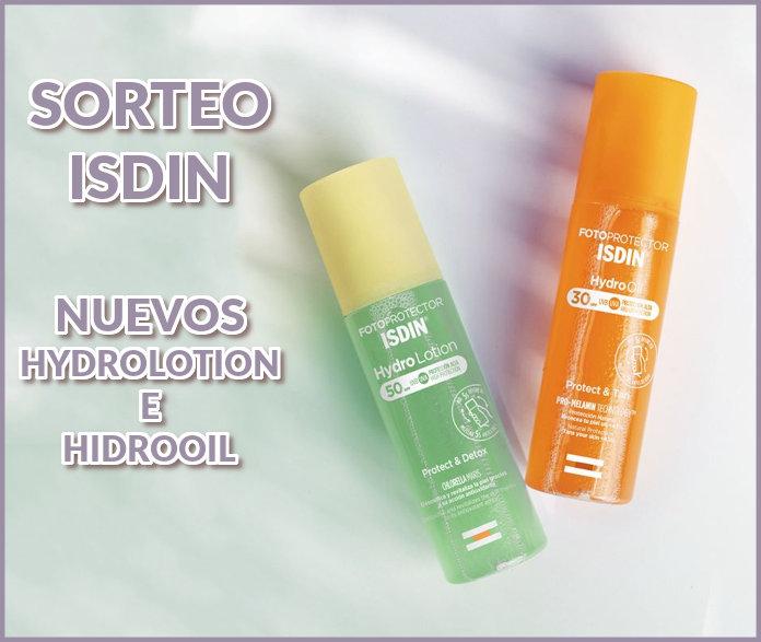 sorteo-Isdin-hidrolotio-hidrooil