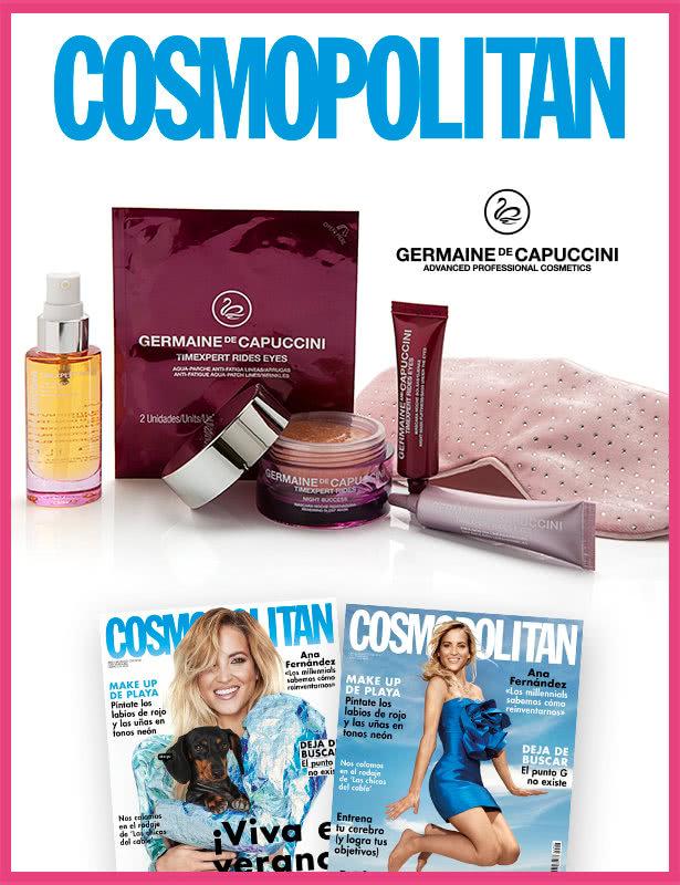 suscripción a regalo de la revista cosmopolita agosto 2020