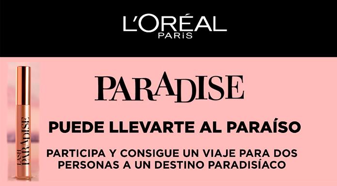 Dé un paseo con Paradise de L & # 39; Oréal