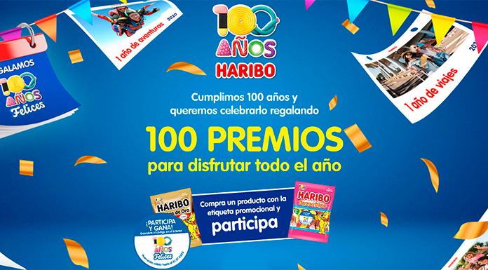 Haribo ofrece 100 premios para todo el año