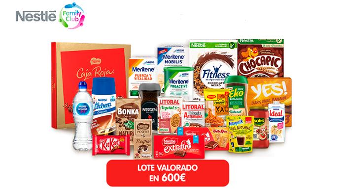 Nestlé regala una serie de productos cada mes
