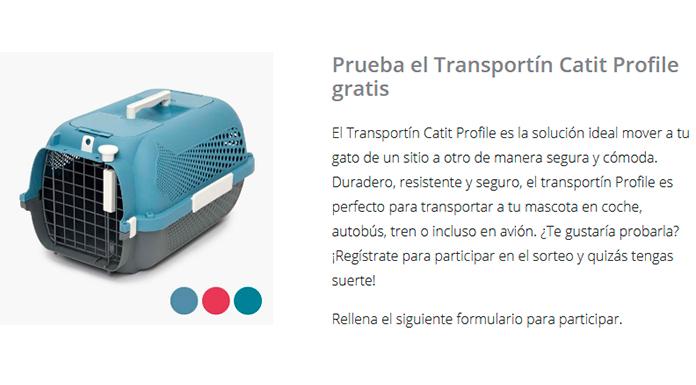 Pruebe el Catit Profile Carrier gratis