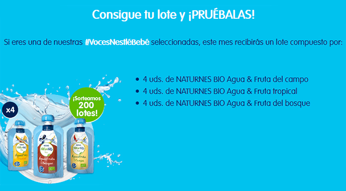 Voces Nestlé Baby sortea 200 lotes de Bio di Naturno
