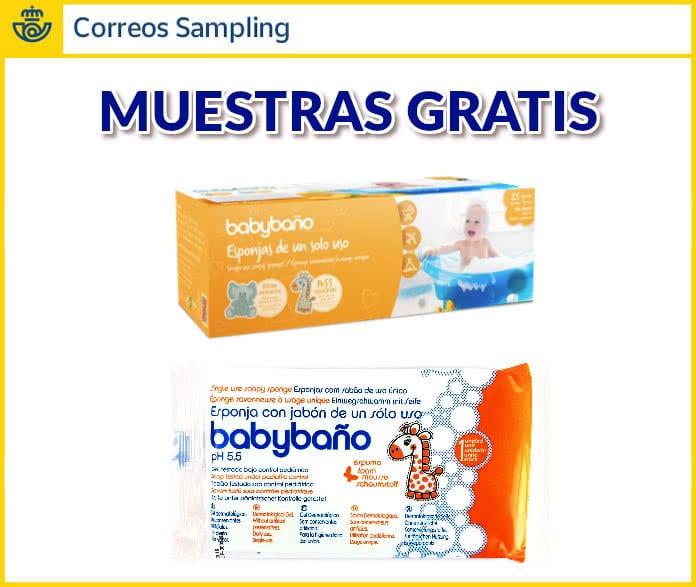 Correos Sampling 5000 muestras gratuitas de Babybano